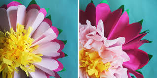 tissue paper flowers how to make a tissue paper flower a dazzling tutorial