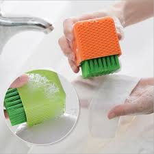 Kitchen Sink Brush House Cleaning Brush Household Plastic Silicone Brush Cleaner Tool