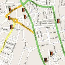 map uk harrogate harrogate ripon camra pub crawl