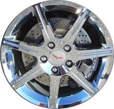chrome corvette wheels aly5363 chevrolet corvette wheel chrome 17800899