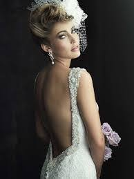 wedding dress captions the engaged bridal dress trend backless wedding gowns