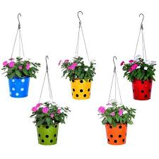 buy hanging pots u0026 planters online hanging flower pots in india