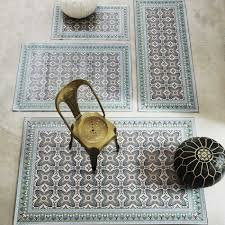 Moroccan Tiles Very Low Bath by Moroccan Tile Mats Rugs U0026 Animal Skins Graham And Green