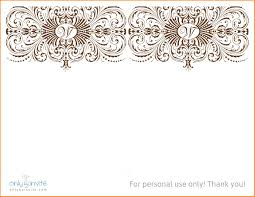 wedding invitations free sles invitation templates for word thevictorianparlor co