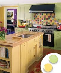 Painted Kitchen Cabinet Ideas Freshome Range Artisan Cherry Wood Grain Texture Colour Range