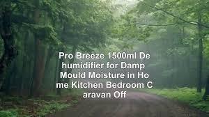 pro breeze 1500ml dehumidifier for damp mould moisture in home