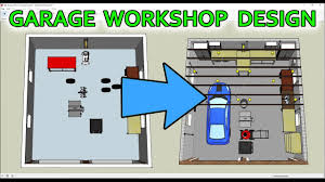 how i used sketchup to design my garage workshop youtube how i used sketchup to design my garage workshop