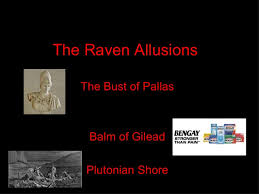 the raven allusions
