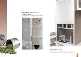 volet roulant meuble cuisine armoire rideau coulissant gallery of meuble cuisine rideau