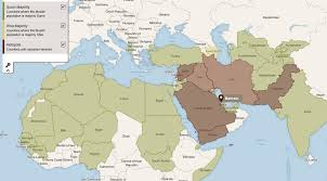 A Map Of The Middle East by The Creation Of Isis Oye Times