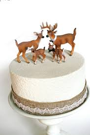 family redneck cake topper deer cake topper wedding cake