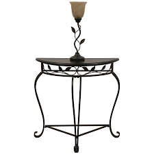 shop style selections 49 75 in oil rubbed bronze table floor lamp