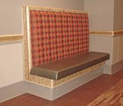 Upholstered Banquette Upholstered Banquette Booth Seating
