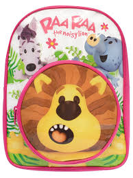 raa raa the noisy lion backpack amazon co uk shoes u0026 bags
