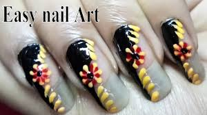 beautiful nails polish designs for beginners youtube