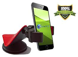 1 cell phone car mount onyx easygrip smartphone cradle universal