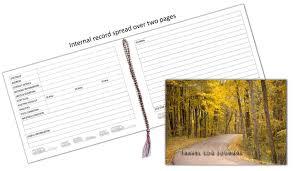 u0026 motorhome owners travel record log u0026 journal forest road yellow
