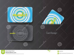 member vip and business card template design stock vector image