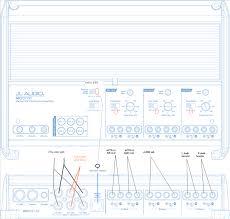 fusion ms ra 200 to jl audio m600 6 amp setup question pics added