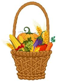 thanksgiving harvest basket clipart clipartxtras