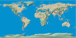 Physical Map Of Florida by More World Map World Online Maps With Countries