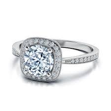 cushion engagement rings 3 carat center cushion cut diamond halo engagement ring diamond