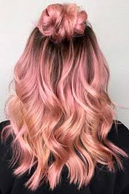 36 rose gold hair color ideas to die for gold hair colors rose