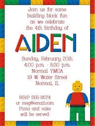 make your own lego birthday invitations cloveranddot com