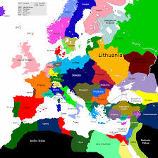 France On Europe Map by Europe 1430 1523 1553 Map Game Alternative History Fandom