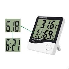 thermom re chambre b for htc 1 high accuracy lcd digital thermometer hygrometer indoor