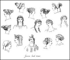 anglo saxon hairstyles ancient greek costume history pictures showing how to recreate a