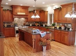 white island with dark grey granite countertop also unique kitchen