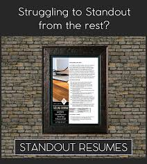 Stand Out Resumes Boutique Professional Resume Writers Revamped Cvs Cover Letters