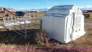 Plastic Calf Hutches 10 Agri Plastics Calf Hutches Item J8341 Sold Februar