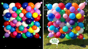 Wall Decoration With Balloons by Organic Balloon Wall Decoration Cool Do It Yourself Creations