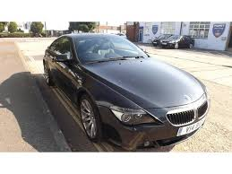 bmw 6 series for sale uk used black bmw 6 series 2006 petrol 630i sport 2dr coupe excellent