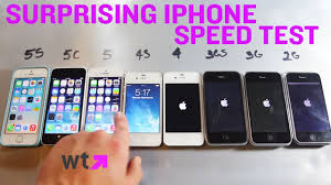 when was the made speed test compares every iphone made what s trending now