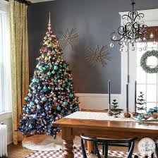 Decorated Christmas Homes Decorating With Ornaments Inspired By Charm