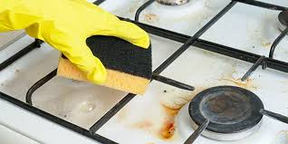 what s the best way to clean white kitchen cabinets 11 easy ways to clean your stove cooktop
