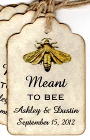 Wedding Wish Tags 100 Meant To Bee Wedding Favor Gift Tags Wedding Wish Tags