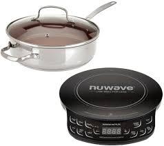 nuwave induction cooktop flex w 3 5qt everyday pan page 1 u2014 qvc com