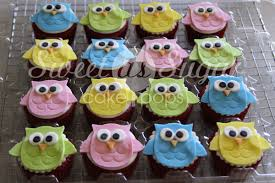 Owl Decorations by Owl Fondant Cupcake Toppers Hoot Sweet As Sugar