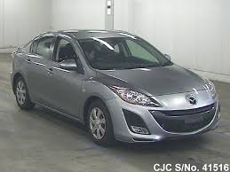 mitsubishi pakistan 2010 mazda axela gray for sale stock no 41516 japanese used