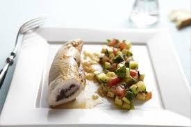 cuisiner escalope de dinde recette de escalope de dinde roulée à la tapenade et au basilic