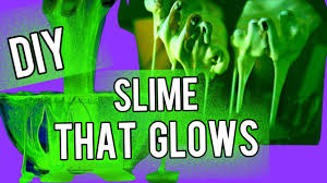 diy glow in the dark slime perfect for halloween nataliesoutlet