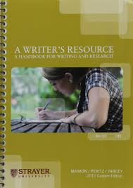 custom research paper writing a writer s resource a handbook for writing and research 2011 a writer s resource a handbook for writing and research 2011 custom edition for strayer university maimon 9780077459345 amazon com books