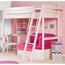 High Sleeper Bed With Desk And Sofa Http Www Childrensbeds4all Co Uk Cherri Whitewash High Sleeper