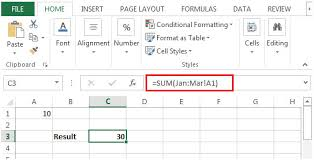 sum across multiple sheets in microsoft excel microsoft excel