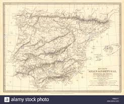 Spain Portugal Map by Map Spain Portugal Iberia Stock Photos U0026 Map Spain Portugal Iberia