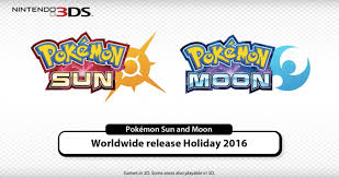 pokémon sun and moon hit the nintendo 3ds this